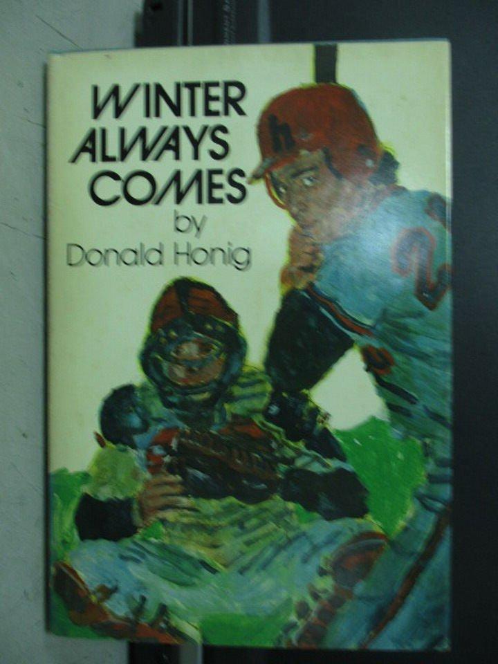 【書寶二手書T2/原文小說_LDG】Winter always comes_Donald honig