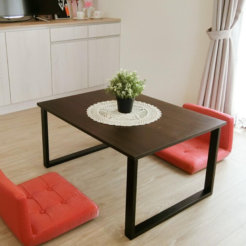 日式茶几桌 / 邊桌 / 方桌 / 和式桌 工業風方型設計和室桌 Amos【DAA034】 1