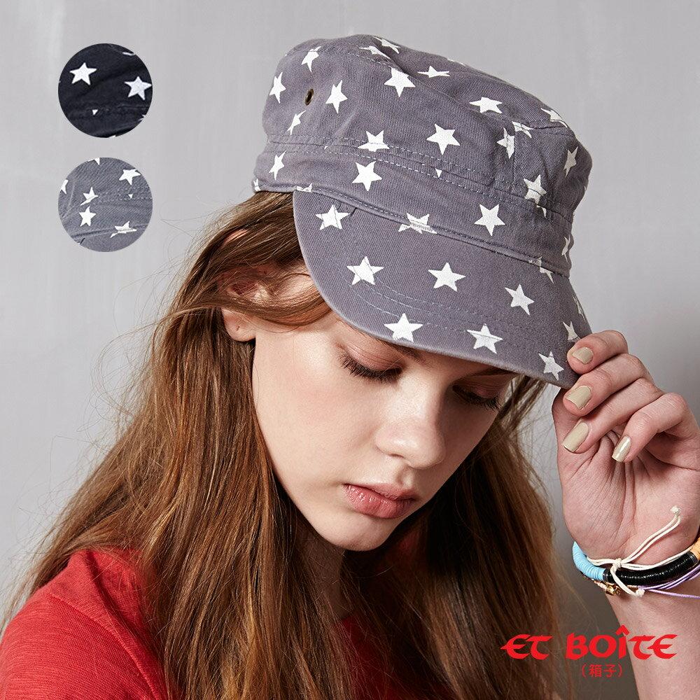 ET BOiTE 箱子  星星帽子(灰)【0218-0222全店滿千折100,再加碼點數20倍送】