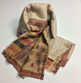 【喀什米爾圍巾】100%PashminaCASHMERE圍巾(W08EIN006)