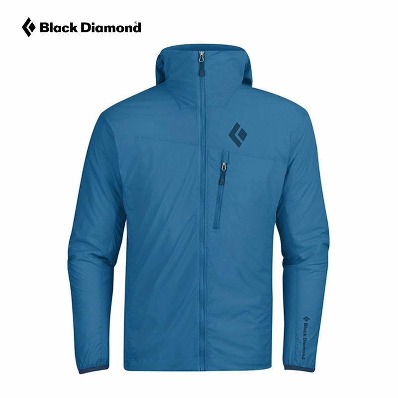 ├登山樂┤美國 Black Diamond Alpine Start 連帽軟殼外套 男款 藍色 #P2S4-450