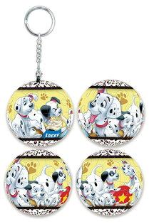 101Dalmatians101忠狗(2)立體球型拼圖鑰匙圈24片-D071