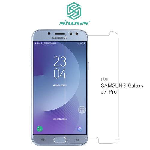 SamsungGalaxyJ7ProJ7(2017)NILLKINAmazingH+Pro超薄型防爆鋼化玻璃貼9H硬度2.5D玻璃保護貼
