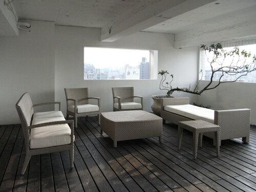 HAVANA 哈瓦那 三人沙發 戶外家具【7OCEANS七海休閒傢俱】TIGER 咖啡混色 2