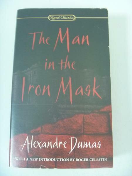 【書寶二手書T3/原文小說_IQF】The Man in the Iron Mask_Dumas, Alexandre/
