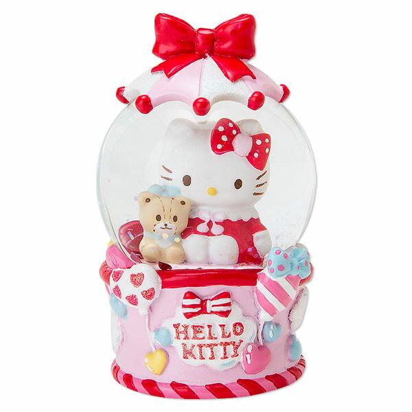 KITTY聖誕水晶球雪花球擺飾小熊氣球447444海渡