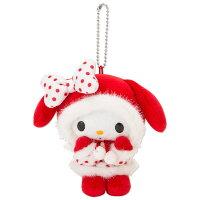 美樂蒂My Melody周邊商品推薦到美樂蒂聖誕娃娃玩偶吊飾水玉斗篷724378海渡