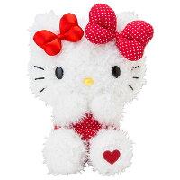 送小孩聖誕禮物到KITTY絨毛娃娃玩偶雙蝴蝶結系列366608海渡/聖誕禮物娃娃