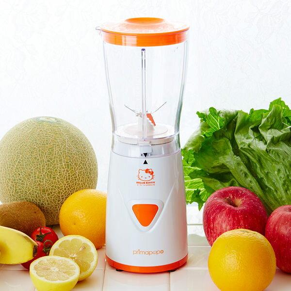 KITTY果汁機刨冰機木瓜牛奶色海渡
