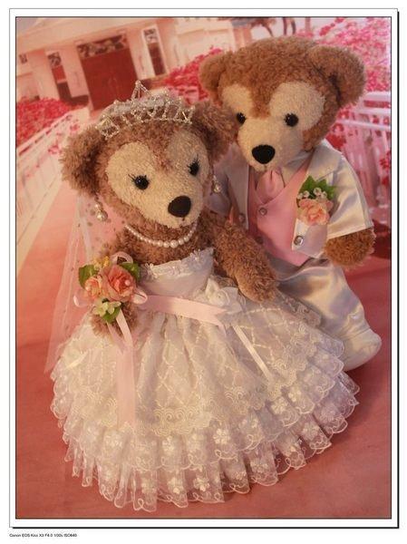 東京迪士尼海洋duffy 娃娃 ShellieMay 玩偶結婚禮服蛋糕蕾絲代購海渡