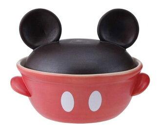 日本製迪士尼米奇土鍋耐火陶鍋砂鍋9號223023海渡