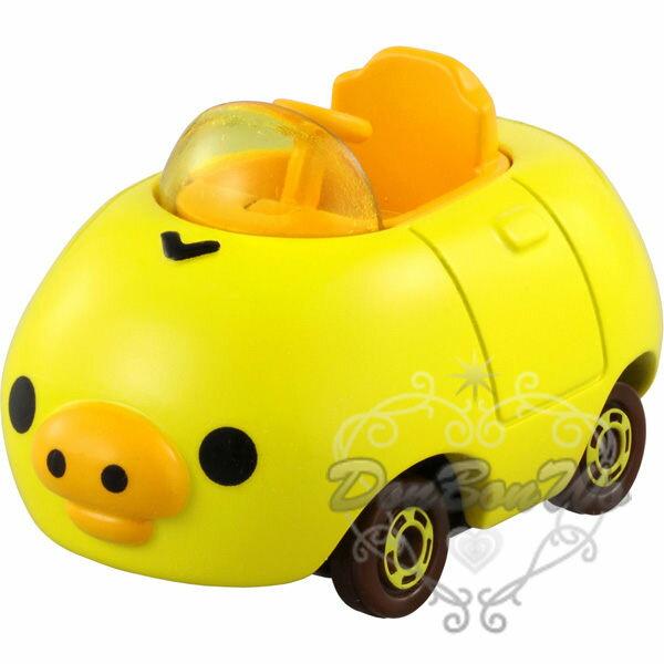 多美TOMY懶懶熊玩具車模型小雞大臉824206海渡