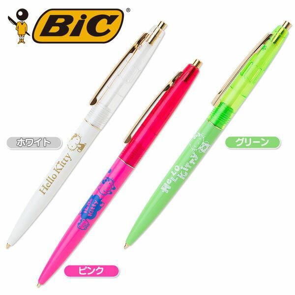 KITTY BIC原子筆油性筆0.7mm玩具小熊246672海渡