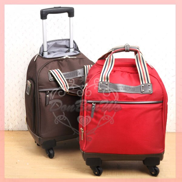 SANTA BARBARA POLO行李箱登機箱旅行箱拉桿滾輪640245紅640252海渡