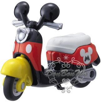 多美TOMY迪士尼玩具車模型DM13米奇摩托車機車802907海渡