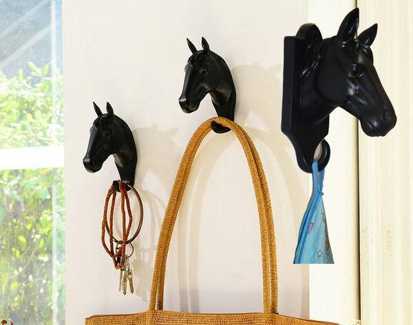 ZAKKA 馬頭壁飾掛鉤馴鹿角掛勾玄關鑰匙掛鉤衣帽架美式鄉村011850預購