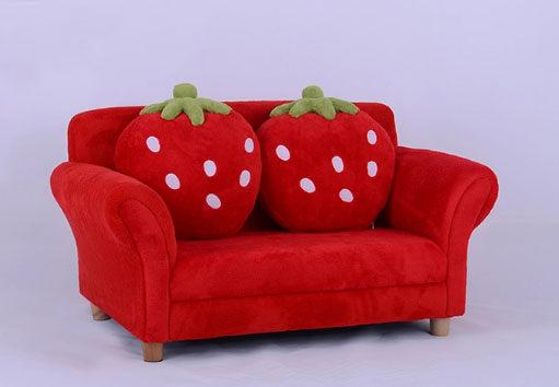 兒童沙發草莓雙人沙發031969海渡