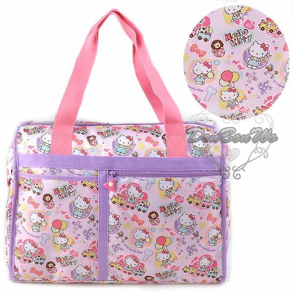 KITTY旅行袋手提袋購物袋防水多圖923500海渡
