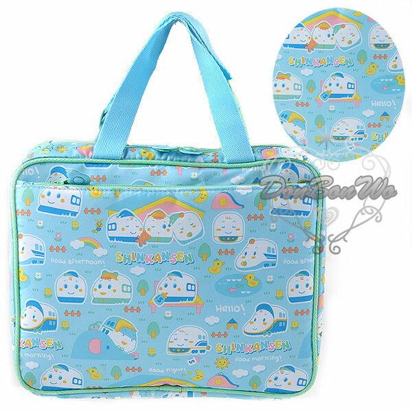 新幹線手提袋手提包收納袋收納包多功能多圖923531海渡