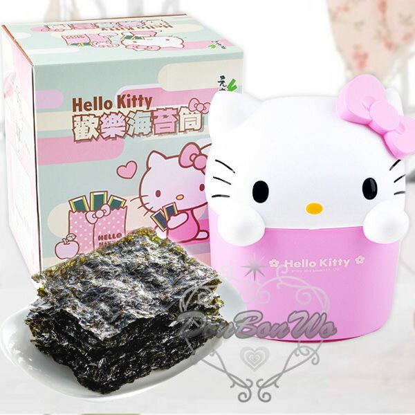 KITTY海苔禮盒粉色大頭250691海渡