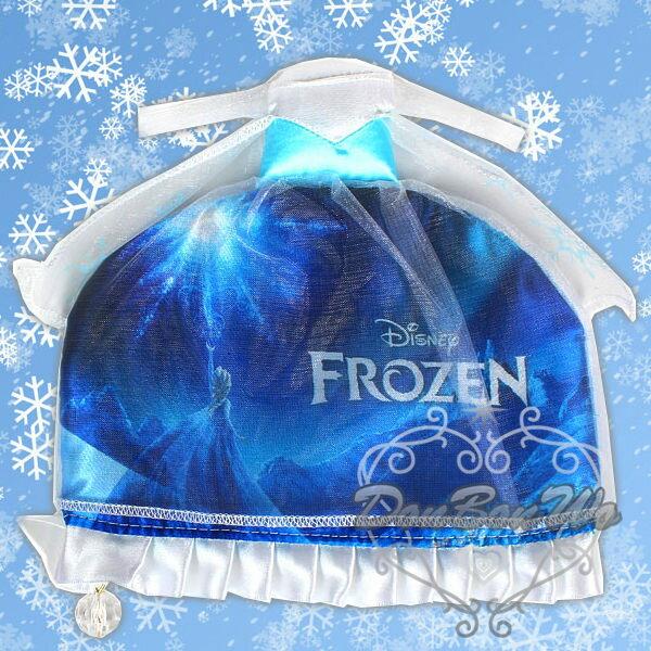 迪士尼冰雪奇緣化妝包收納包Elsa艾莎禮服造型576917海渡