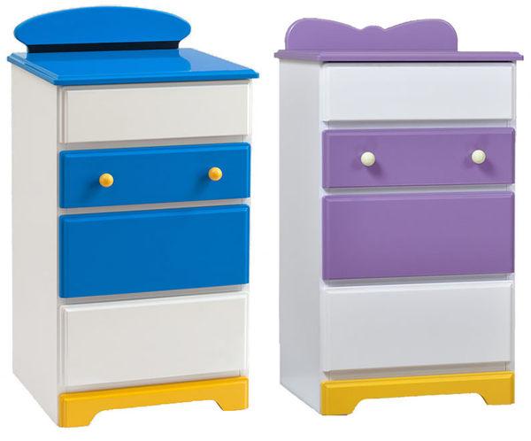 迪士尼黛西唐老鴨五斗櫃木櫃日本製限定123057代購海渡