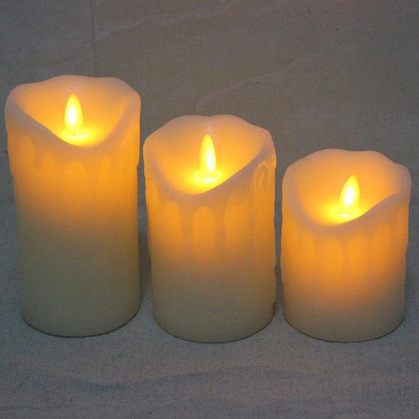 浪漫安全LED燈蠟燭燭台仿真蠟燭083153代購海渡