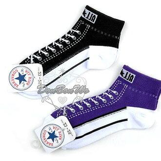 ALL STAR襪子短襪紫641474黑641467海渡