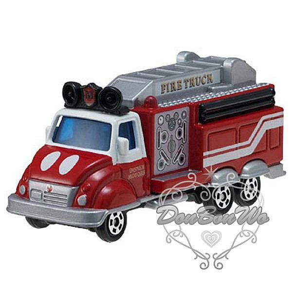 TOMY多美迪士尼米奇玩具車消防車454229海渡
