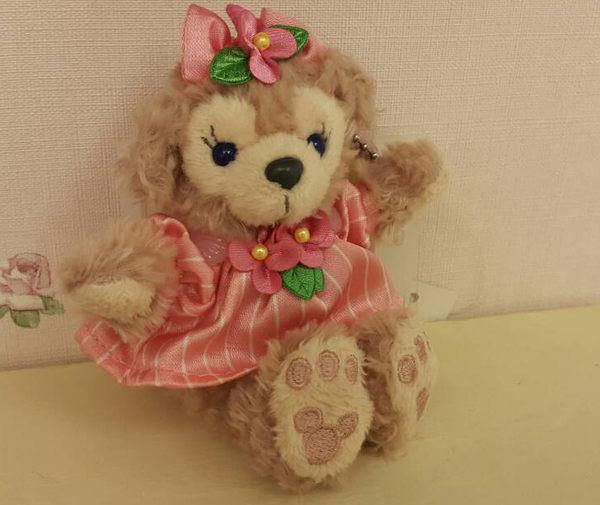 迪士尼海洋DUFFY Shelliemay娃娃吊飾春季款代購海渡