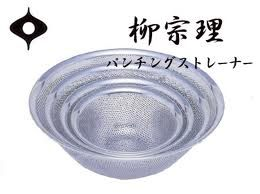 日本製柳宗理 不鏽鋼濾網 304不鏽鋼23cm代購海渡