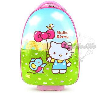 Kitty拉桿硬殼行李箱旅行箱登機箱書包大動物園043053海渡
