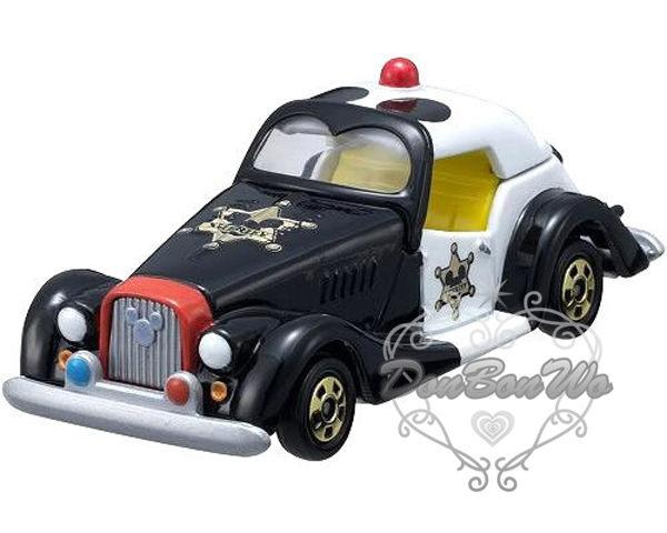 多美TOMY迪士尼玩具車模型DM09米奇警車459538海渡