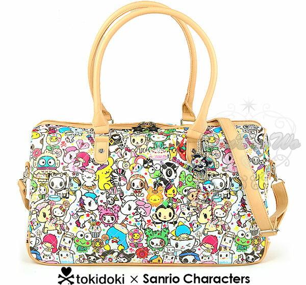 海外限定Tokidoki x sanrio斜背包手提包旅行袋149437海渡
