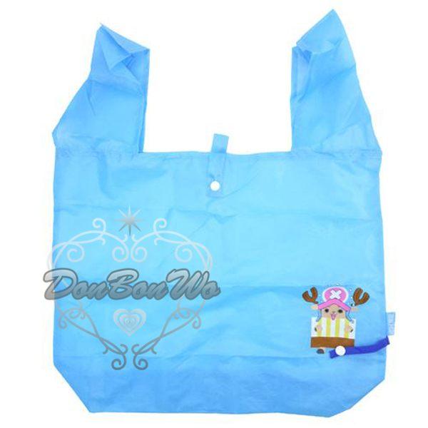 海賊王航海王喬巴摺疊購物袋手提袋348727海渡