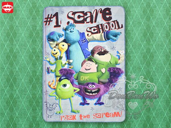 迪士尼怪獸大學毯子毛毯人物合照021416海渡