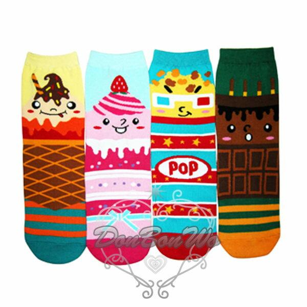 韓國VIVID COLOR襪子短襪甜點精靈022414海渡