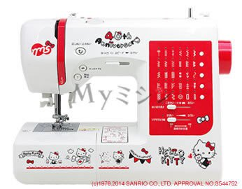 <br/><br/>  HELLO KITTY 40周年裁縫機代購NKT40海渡<br/><br/>