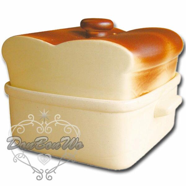 日本製常滑燒SAN2061土鍋烘烤麵包陶鍋226864海渡