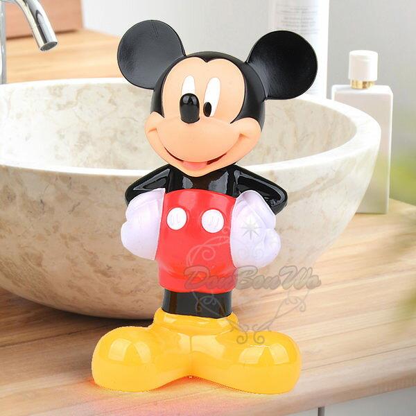 迪士尼米奇溫和配方兒童沐浴乳立體造型蜜桃香202529海渡