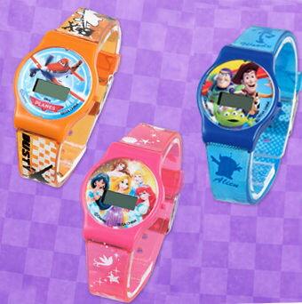 迪士尼CARS公主18巴斯光年電子錶手錶SEGA041522海渡