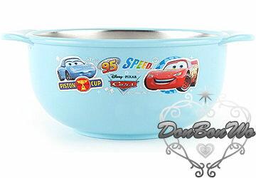 迪士尼CARS雙柄不銹鋼隔熱飯碗S/021382海渡