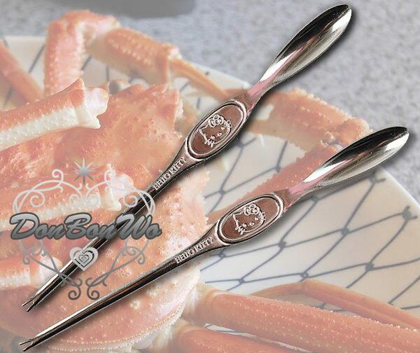 KITTY日本製螃蟹叉2BJ4612093海渡