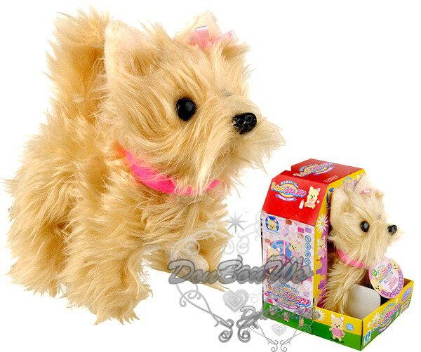海渡-日本IWAYA電動絨毛小狗瑪爾濟斯玩具會叫會走路搖尾巴喔301494