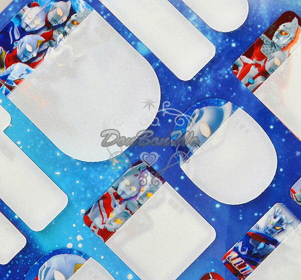 海渡--日本製鹹蛋超人防油防水姓名貼紙320441
