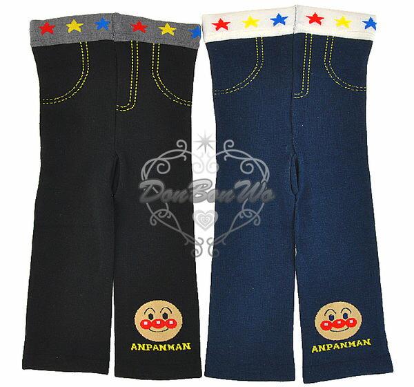 海渡--麵包超人兒童保暖九分褲襪彈性內搭褲緊身褲122710