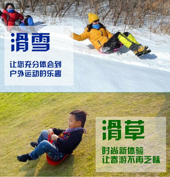 麗嬰兒童玩具館~兒童雙人滑草板 / 滑雪板 / 滑沙板 / 滑草片 / 滑草墊(加厚加大) 1