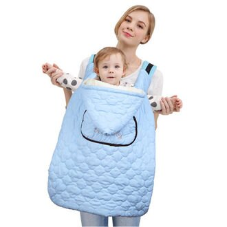 防風防水保暖披風背巾《雙面可用》