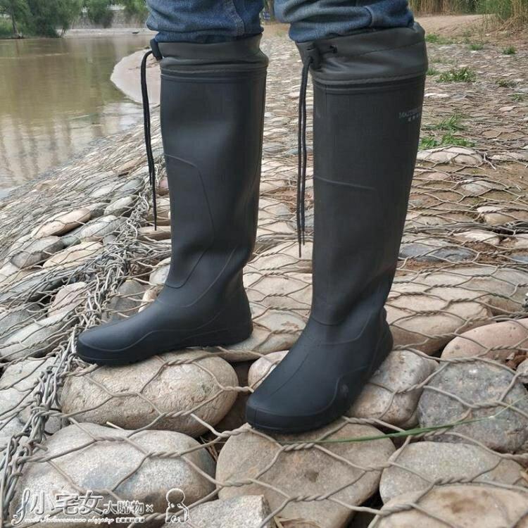 長筒雨靴 男雨鞋高筒防水防滑雨靴高幫耐磨膠鞋水鞋輕便大長筒釣魚水靴泥鞋 【雙十二全館免運】