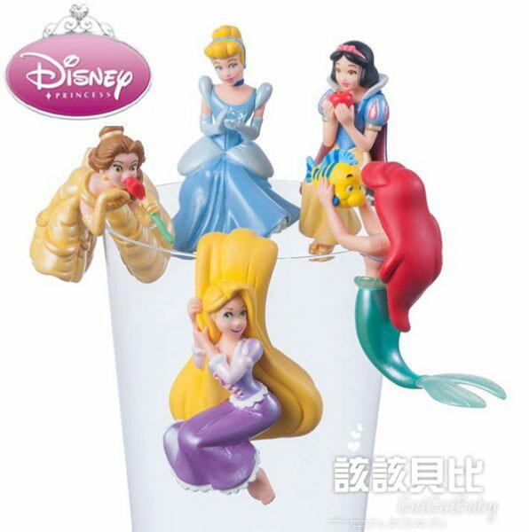 【五折】迪士尼公主 杯緣子 Disney 正品 出貨 該該貝比  ☆